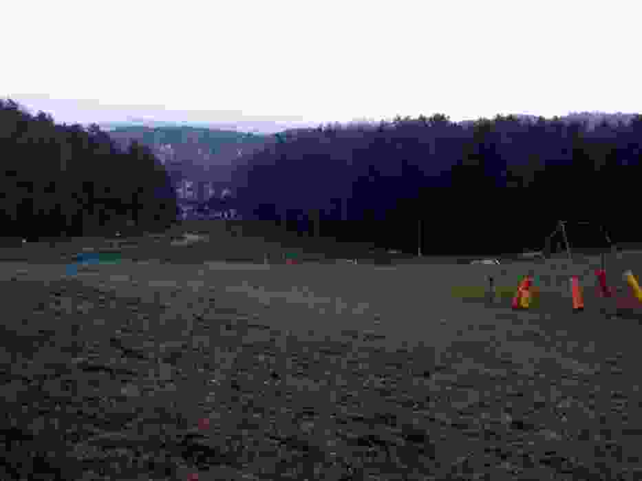 Widok z Łysej Góry