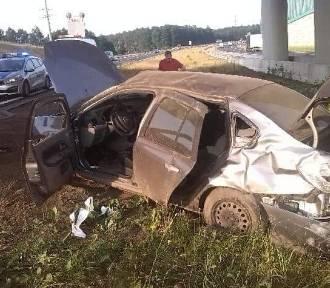 Wypadek na A1 między Żorami a Świerklanami. Sprawca uciekł z miejsca zdarzenia POMÓŻCIE GO ODNALEŹĆ
