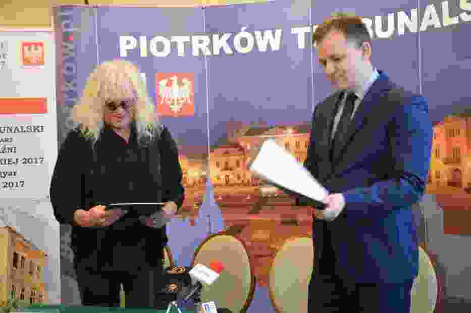 Konferencja z zespołem Omega w Piotrkowie