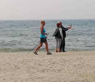 Koniec lata nad Bałtykiem? W środę po południu byliśmy na kołobrzeskiej plaży