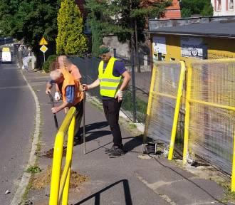 Wałbrzych: Przy szkole nr 2 przebudowują przejście dla pieszych. Ten dobry pomysł zmienia nasz