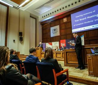 Europejska Unia Studentów w Gdańsku. Spotkanie z Jarosławem Gowinem [ZDJĘCIA]