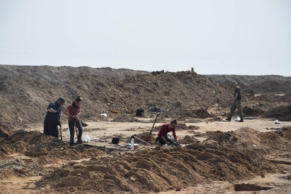 W związku z budową nowej S5 w Mikoszkach trwają badani archeologiczne