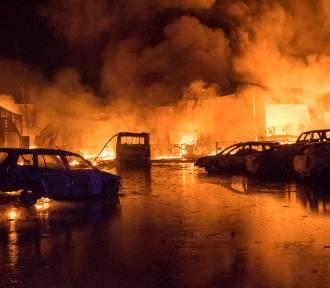 Wielki pożar w Sosnowcu. Te zdjęcia wykonał strażak - są unikalne!