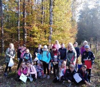 Las w Jasionnej widziany oczami trzecioklasistów z Błaszek [FOTO]