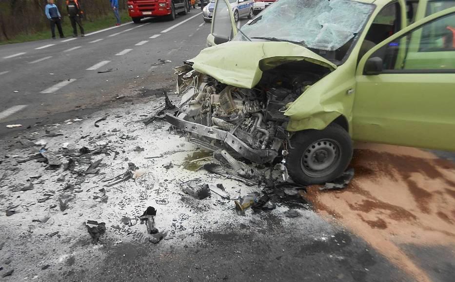 Wypadek w Piotrowie