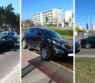 Groźna kolizja na skrzyżowaniu ulic Konstytucji Trzeciego Maja i Kosynierów Kościuszkowskich.