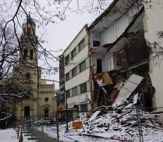 Zawalona kamienica na Sienkiewicza - rozprawa odroczona