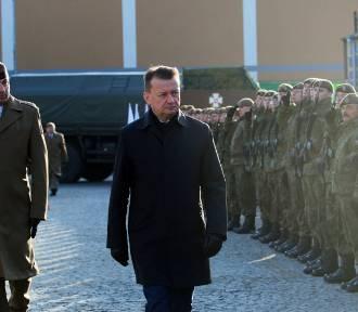 Żołnierze złożyli przysięgę w Hrubieszowie. W uroczystościach uczestniczyli wicepremier Sasin