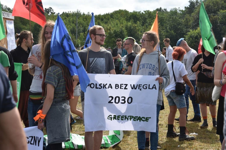Strajk klimatyczny na Pol'And'Rock