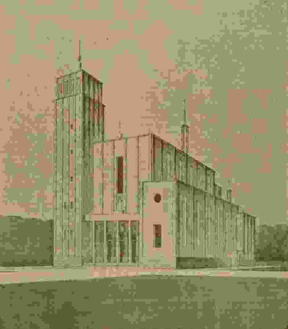 Projekt Kościoła Ojca Teresy ze 1930 roku