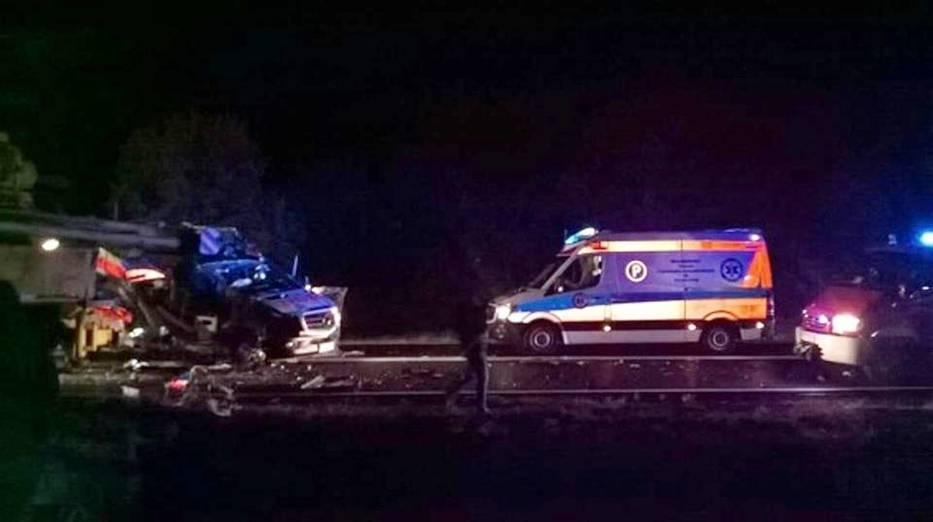Wypadek w Krąpielu