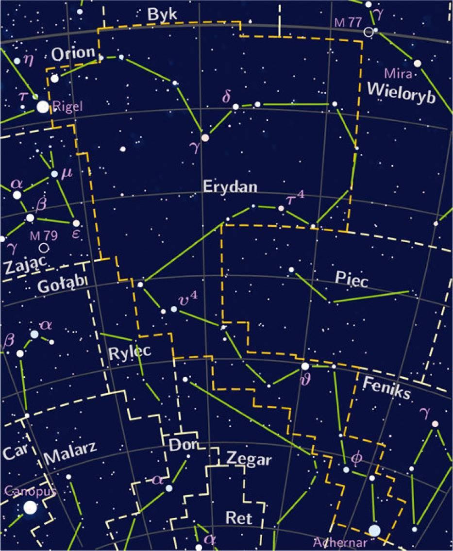 Gwiazdozbiór Erydanu