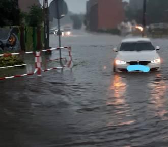 Gwałtowne burze i opady nad Śląskiem i Zagłębiem