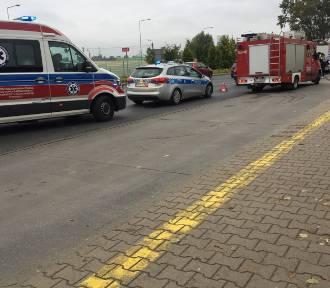 Wypadek na Wyszogrodzkiej. Zderzenie trzech samochodów