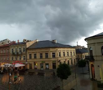 Ostrzeżenie przed burzami w woj. lubelskim. Możliwy grad