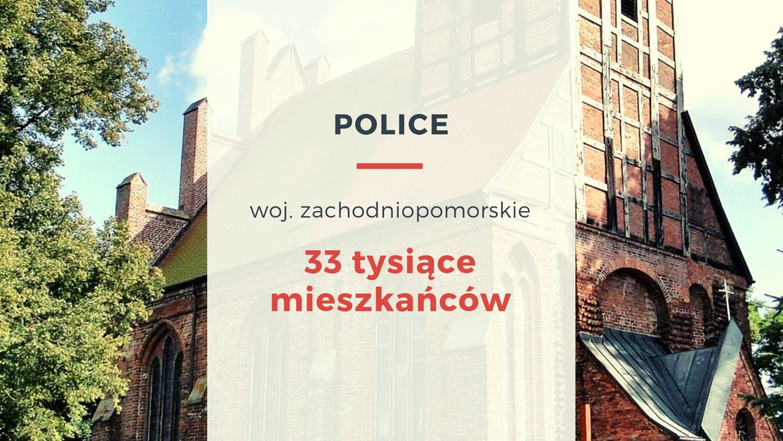 W 1898 roku Police uzyskały połączenie kolejowe ze Szczecinem