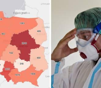 Rekordowa ilość nowych zakażeń w Polsce - największa w tym roku! Jak w Śląskiem?