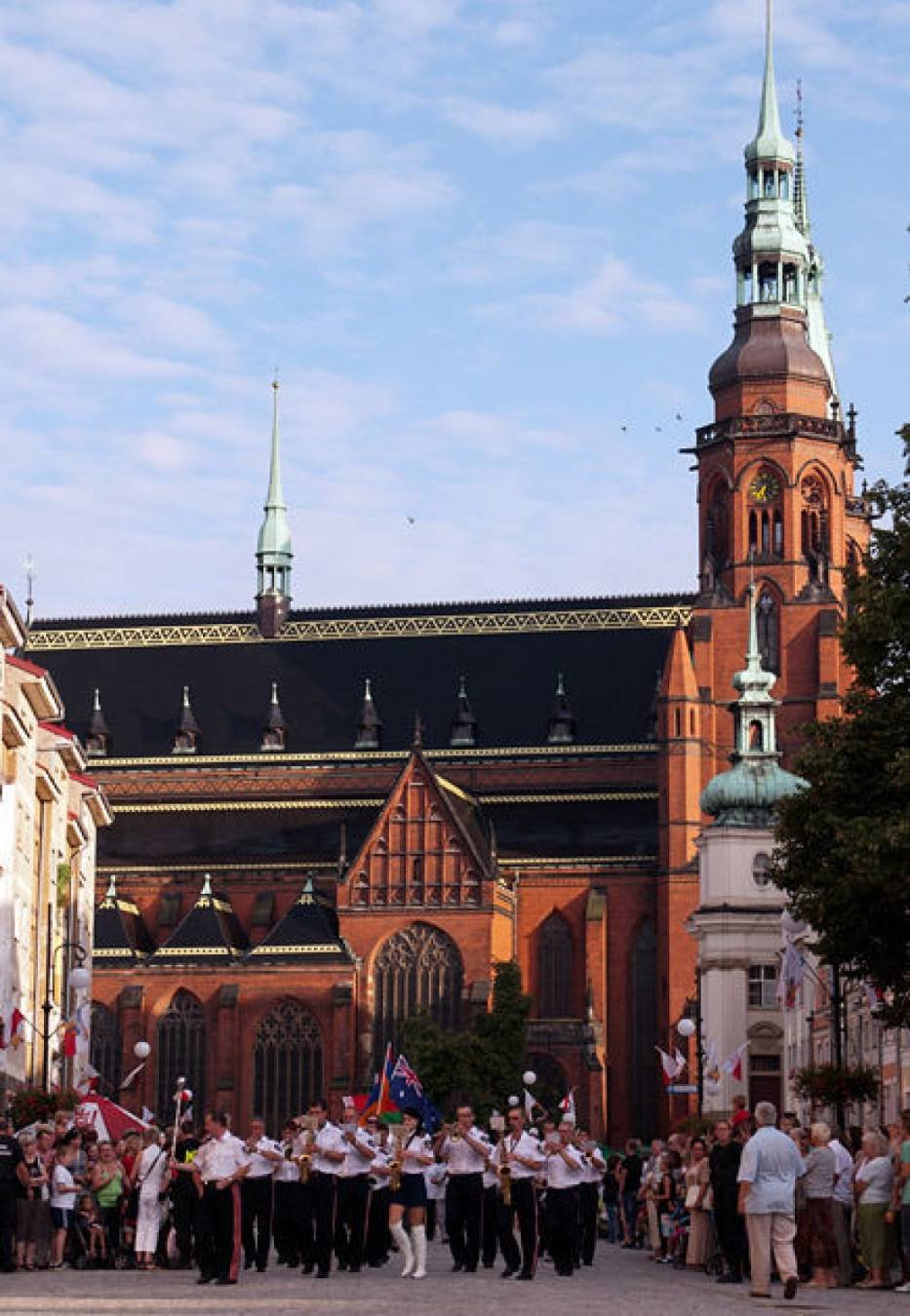 Młodzieżowe Mistrzostwa Świata w Łucznictwie uroczyście rozpoczęły się 22 sierpnia w centrum legnickiego rynku