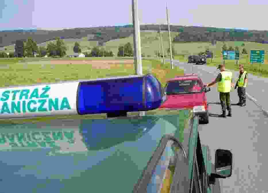 Straż Graniczna, kontrola Drogowa