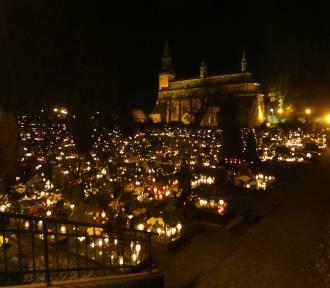Wieczorne zdjęcia na cmentarzu w Kartuzach ZDJĘCIA