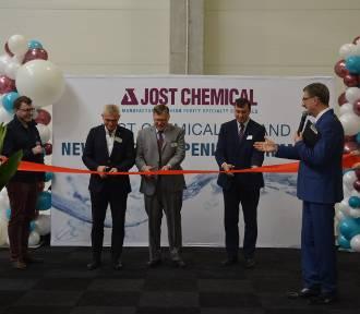 Otwarcie fabryki amerykańskiej firmy Jost Chemical w Kościanie ZDJĘCIA