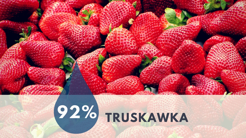 TRUSKAWKA - 92% wody