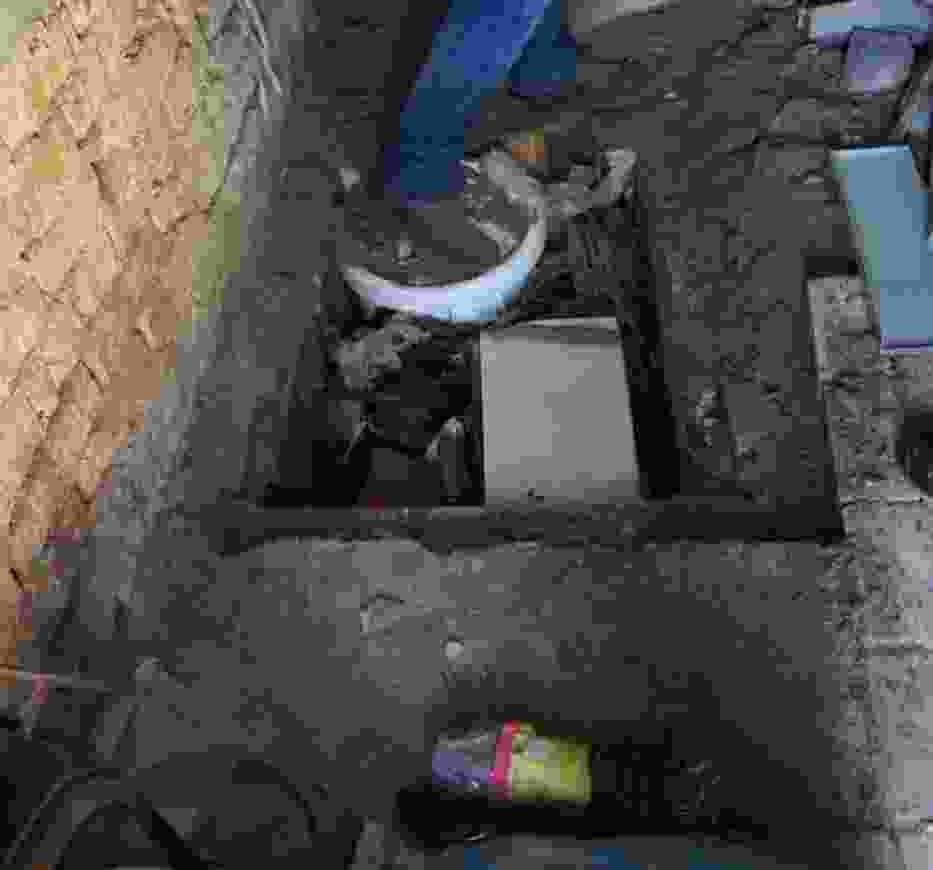 Łęczycki włamywacz trzymał łupy pod podłogą w komórce