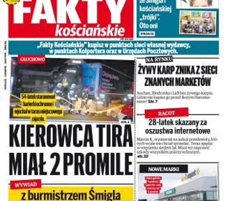 """Nowe """"Fakty Kościańskie"""" w sprzedaży od środy 5 grudnia"""