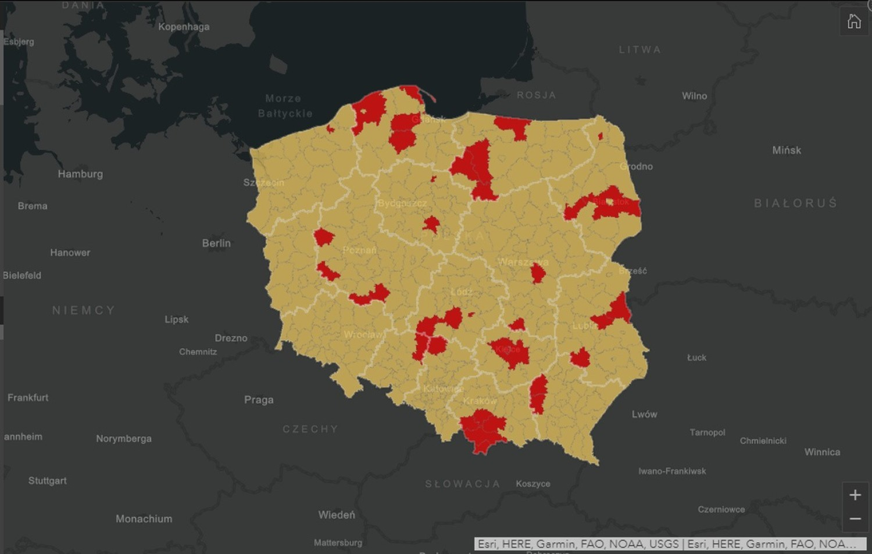 W Polsce od 10
