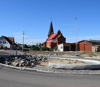 Debrzno-Człuchów. Jak wygląda przebudowywana droga nr 188 (zdjęcia)