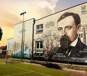 Mural ozdobił ścianę Szkoły Podstawowej nr 6 w Kaliszu. ZDJĘCIA
