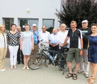 Burmistrz przejechał na rowerze 800 km