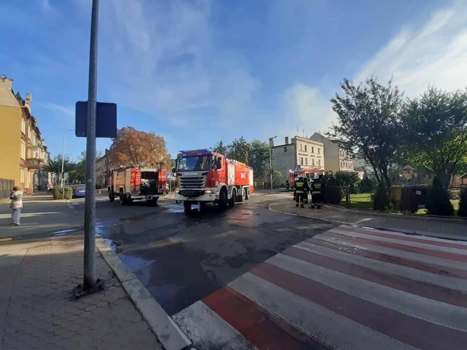 Pożar w Chojnowie