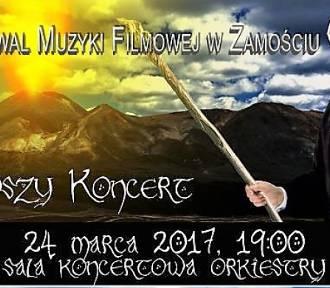 WŁADCA PIERŚCIENI podczas inauguracji III Festiwalu Muzyki Filmowej w Zamościu.