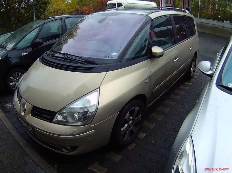Samochód Osobowy Renault Espace 7-osobowy 2006 r