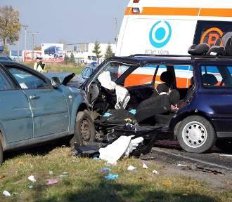 Poważny wypadek. Trzy osoby poszkodowane!