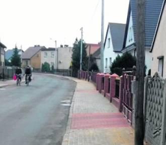 Nowe chodniki już cieszą oko mieszkańców