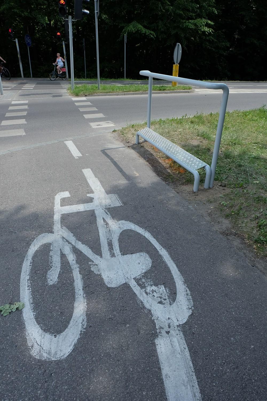 Naruszenie przez kierującego rowerem lub motorowerem zakazu jazdy bez trzymania co najmniej jednej ręki na kierownicy oraz nóg na pedałach lub podnóżkach (50 zł), naruszenie przez kierującego rowerem lub motorowerem zakazu czepiania się pojazdów (100 zł), naruszenie przez kierującego rowerem na przejeździe dla rowerzystów zakazu wjeżdżania bezpośrednio przed jadący pojazd (150 zł)