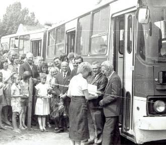 Pół wieku komunikacji miejskiej w Kosakowie. Tak tworzyła się moto historia | ZDJĘCIA