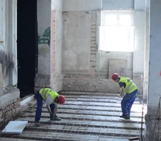 Trwa modernizacja teatru w Grudziądzu [wideo, zdjęcia]