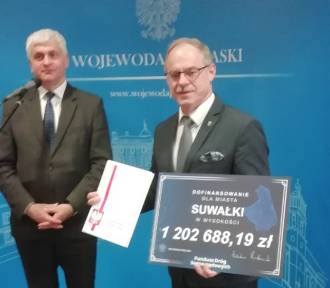 Inwestycje w Suwałkach. Są pieniądze na drogę do lotniska
