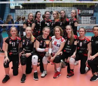 Młodziczki WTS KDBS Włocławek w półfinale mistrzostw Polski 2019 w siatkówce [zdjęcia]