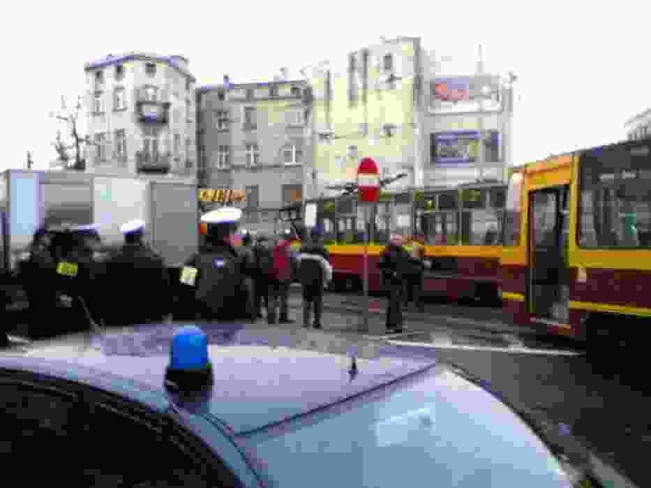 Tramwaje, biorące udział w wypadku