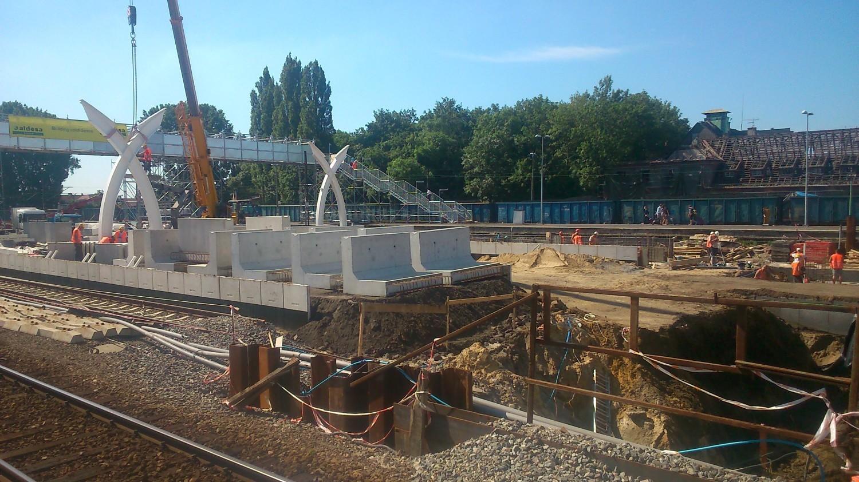 Remont dworca w Gliwicach