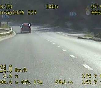 W Grudziądzu przekroczył prędkość o ponad 50 km/h. Stracił prawo jazdy [wideo]