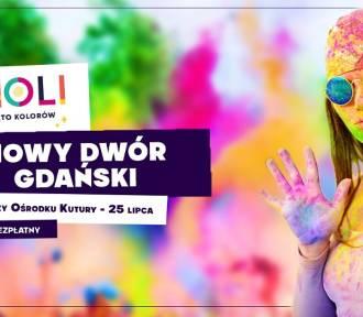 Święto Kolorów Holi już jutro w Nowym Dworze Gdańskim. Bezpłatny wstęp dla wszystkich