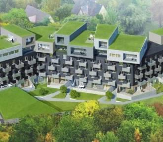 Baildomb, nowe osiedle w Katowicach-Dębie. Autorem projektu jest Robert Konieczny