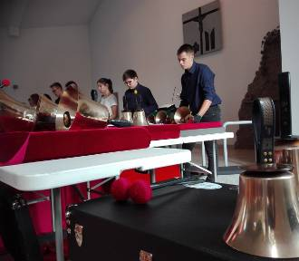 Koncert Zelowskich Dzwonków w kościele Ewangelicko-Augsburskim