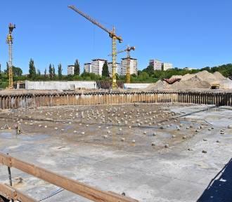 Prace przy budowie aquaparku w Szczecinie. Zobaczcie nowe ZDJĘCIA